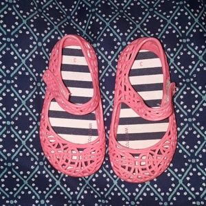Pink Baby jelly sandals